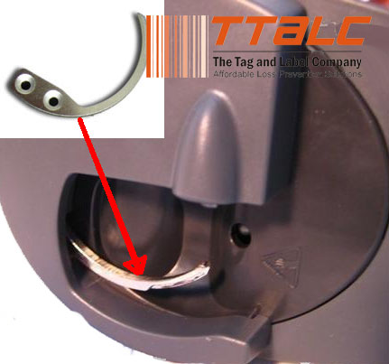 Supertag Replacement Hooks Shop Security Retail Loss